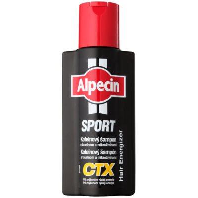 Alpecin Sport CTX koffeines sampon hajhullás ellen megnövekedett energiafelhasználás esetén