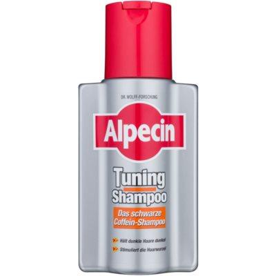 Alpecin Tuning Shampoo σαμπουάν με χρώμα για πρώτα γκρίζα μαλλιά