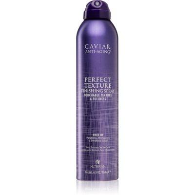 sprej pre finálnu úpravu vlasov