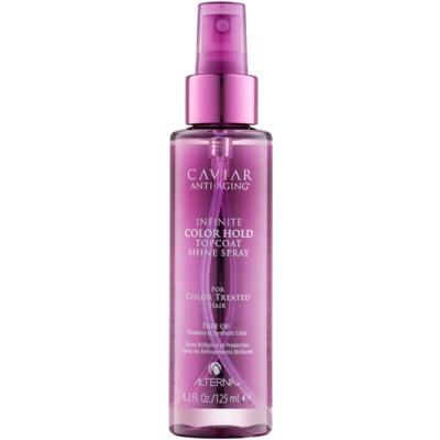 spray per la protezione del colore dei capelli senza parabeni