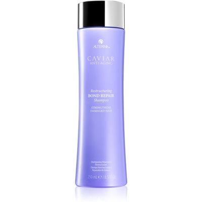 obnovujúci šampón na slabé vlasy