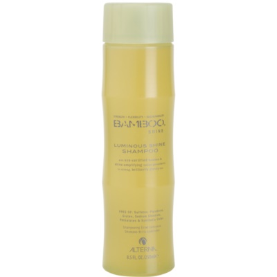 shampoing pour un éclat lumineux