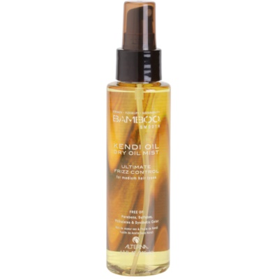 Dry Oil Mist to Treat Frizz