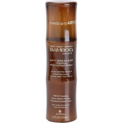 Alterna Bamboo Smooth spray protecteur pour cheveux cassants et stressés