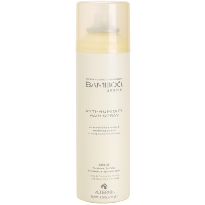 Alterna Bamboo Smooth Hairspray Anti - Humidity