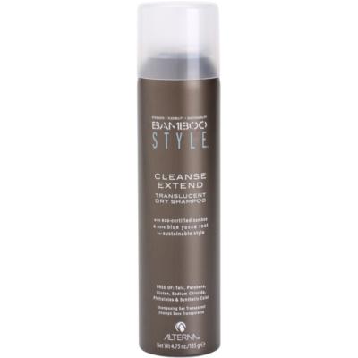 shampoing sec sans sulfates ni parabènes
