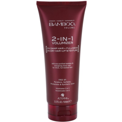 Alterna Bamboo Volume stiling nega za volumen in obliko
