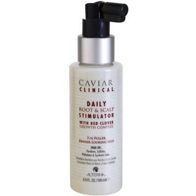 Alterna Caviar Clinical стимулиращ серум за скалпа и корените на косата