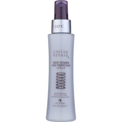 spray multivitamínico protector de calor para cabello