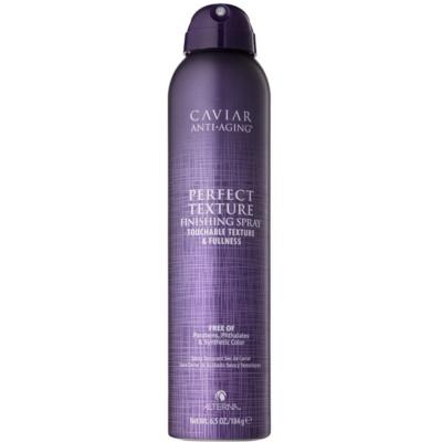 spray de finition cheveux