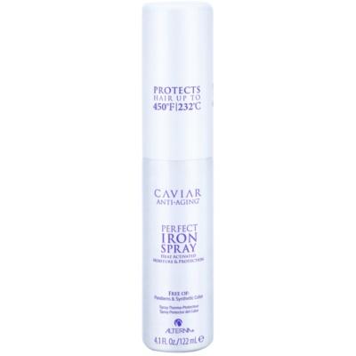 spray pour protéger les cheveux contre la chaleur
