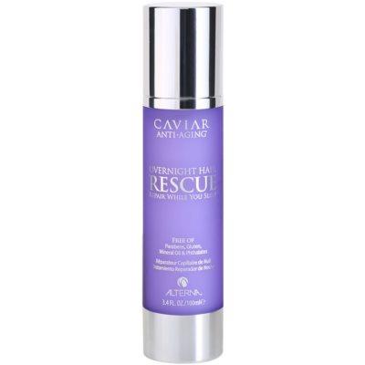 Alterna Caviar Treatment maschera notte rigenerante per capelli rovinati