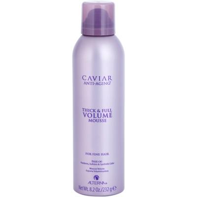 espuma de cabelo para dar volume