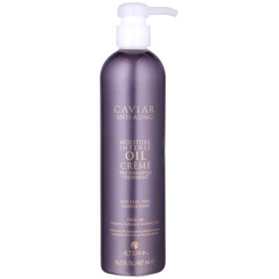 Alterna Caviar Moisture Intense Oil Creme Pre-Shampoo Nourishing Treatment For Very Dry Hair