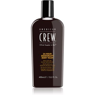 American Crew Hair & Body 24-Hour Deodorant Body Wash душ-гел с ефект на дезодорант 24 часа