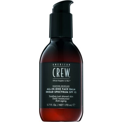 American Crew Shaving balsamo after-shave SPF 15