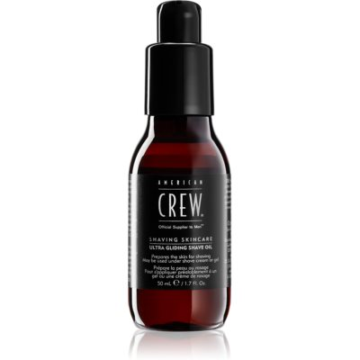 American Crew Shave & Beard Ultra Gliding Shave Oil μαλακτικό λάδι για τα γένια
