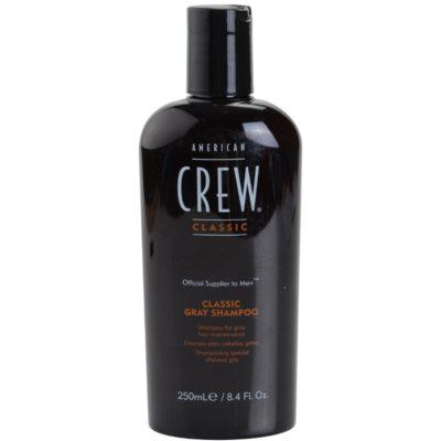 šampon pro šedivé vlasy