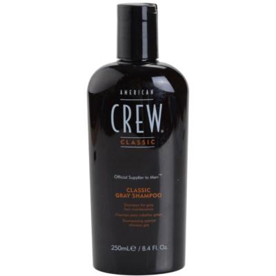 shampoing pour cheveux gris