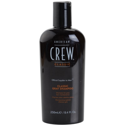 American Crew Classic shampoing pour cheveux gris