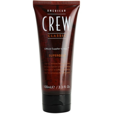 American Crew Classic Superglue Gel for Extreme Hold and Shine
