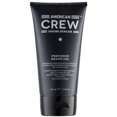 American Crew Shaving borotválkozási gél az érzékeny arcbőrre