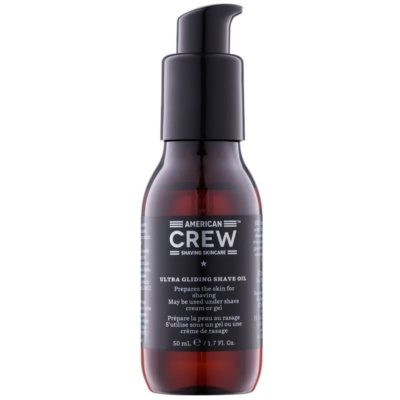 American Crew Shave óleo para suavização da barba