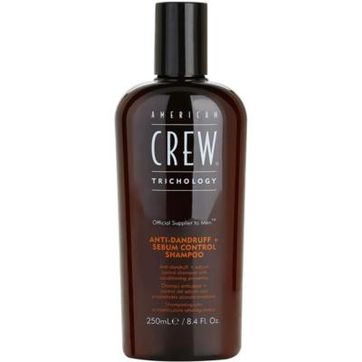 American Crew Trichology szampon przeciwłupieżowy do regulacji sebum