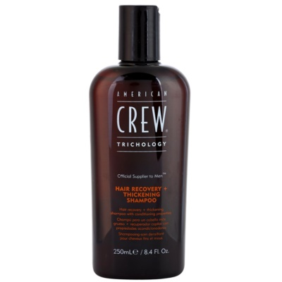 American Crew Trichology відновлюючий шампунь для збільшення густоти волосся
