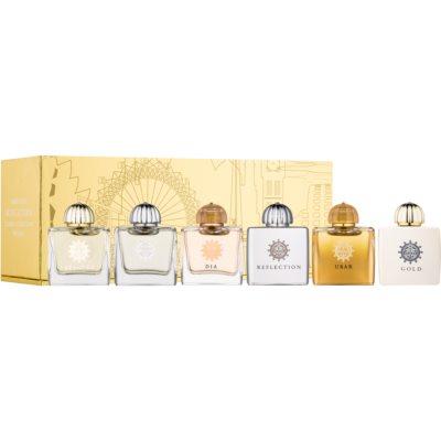 Amouage Miniatures Bottles Collection Women Gift Set ІХ Gold, Dia, Ciel, Reflection, Beloved, Ubar