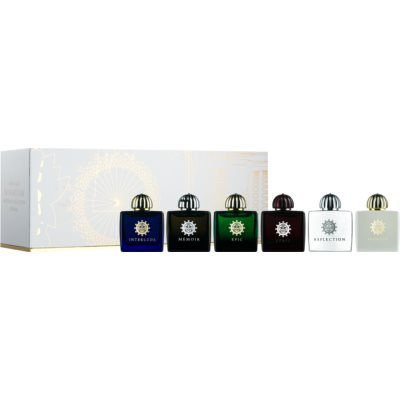Amouage Miniatures Bottles Collection Women coffret VIII.  Eau de Parfum 6 x 7,5 ml