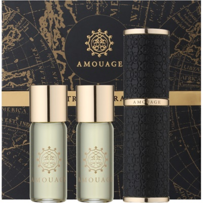 Amouage Epic Eau de Parfum for Men  (1x Refillable + 2x Refill)