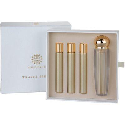 eau de parfum pour femme 4 x 10 ml (1x rechargeable + 3x recharge)