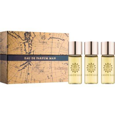 парфюмна вода за мъже 3 x 10 мл. (3 пъти пълнеж)