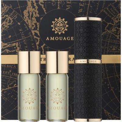 Parfumovaná voda pre mužov 3 x 10 ml (1x plniteľná + 2x náplň)