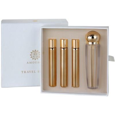 Eau de Parfum für Damen 4 x 10 ml (1x Nachfüllbar + 3x Nachfüllung)