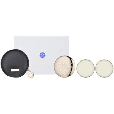 solid parfum  (1x navulbaar + 2x navulling) voor Vrouwen  3x1,35 gr