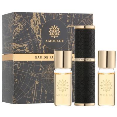 Amouage Reflection Eau de Parfum para homens  (1x vap.recarregável + 2 x recarga)