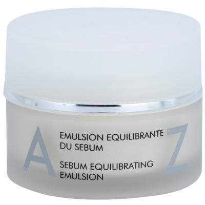 emulsão facial para a regulação da produção de sebo para iluminação e hidratação