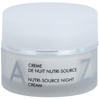 crème de nuit nourrissante