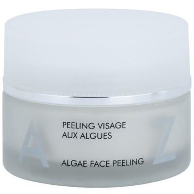 peeling do twarzy z algami morskimi