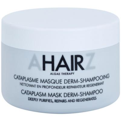tiefreinigende und regenerierende Maske als Shampoo