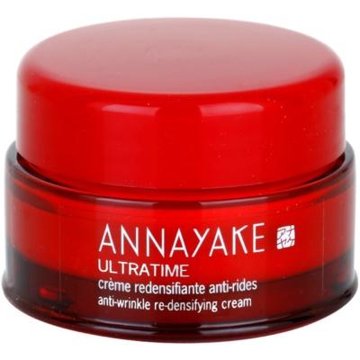 crema antiarrugas para renovar la densidad de la piel