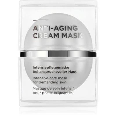 Creme-Maske gegen die Zeichen des Alterns