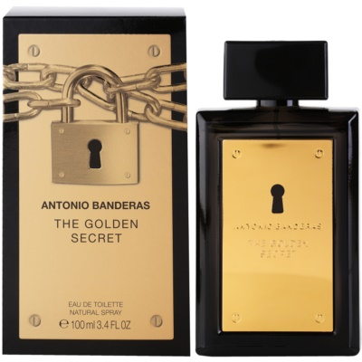 Antonio Banderas The Golden Secret eau de toilette férfiaknak