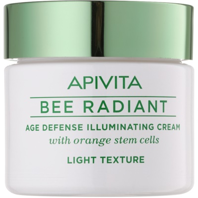 Apivita Bee Radiant Light Rejuvenating Cream with Brightening Effect