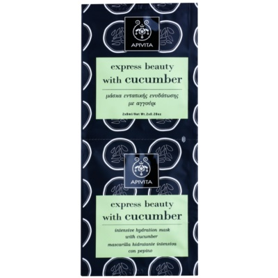 Apivita Express Beauty Cucumber intenzivna hidratantna maska za lice