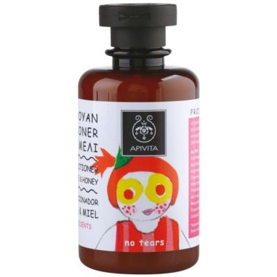 Apivita Kids Pomegranate & Honey shampoing et après-shampoing 2 en 1 pour enfant