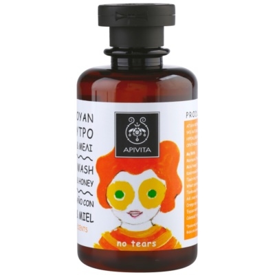 Apivita Kids Tangerine & Honey шампоан и душ гел 2 в 1 за деца