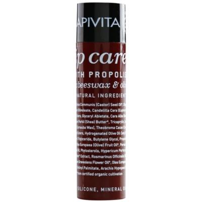 Apivita Lip Care Propolis Balsem voor droge en gebarsten Lippen